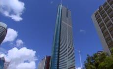 深圳城市风景 蓝天白云 高楼大厦 建筑