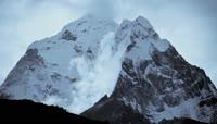 喜马拉雅山自然风光延时摄影视频素材