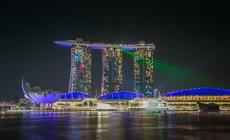 新加坡延时摄影视频素材
