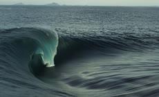 大气震撼航拍实拍大海海浪涌动视频素材