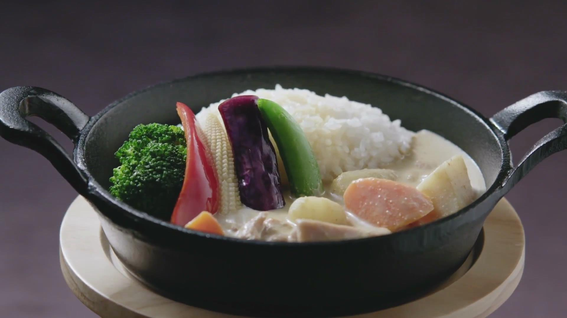中式料理烹饪视频素材
