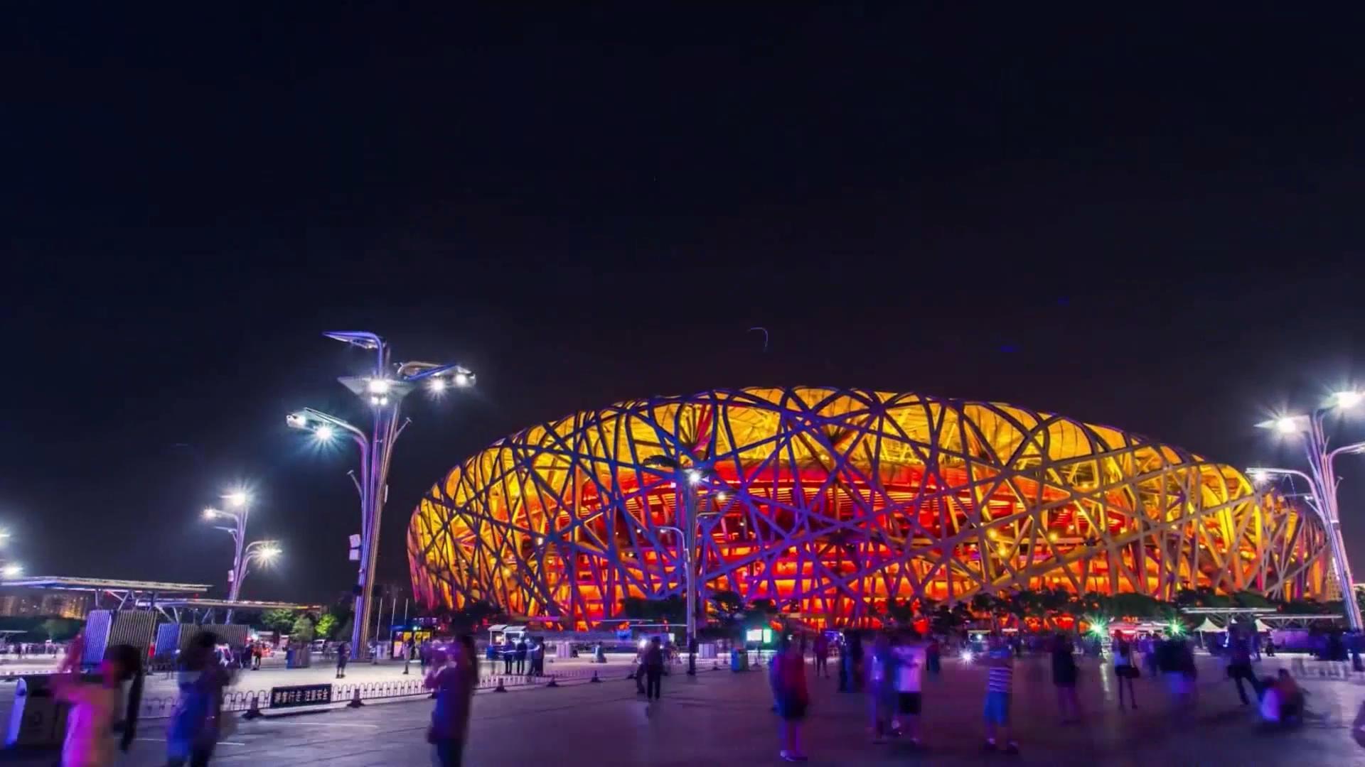北京延时摄影素材