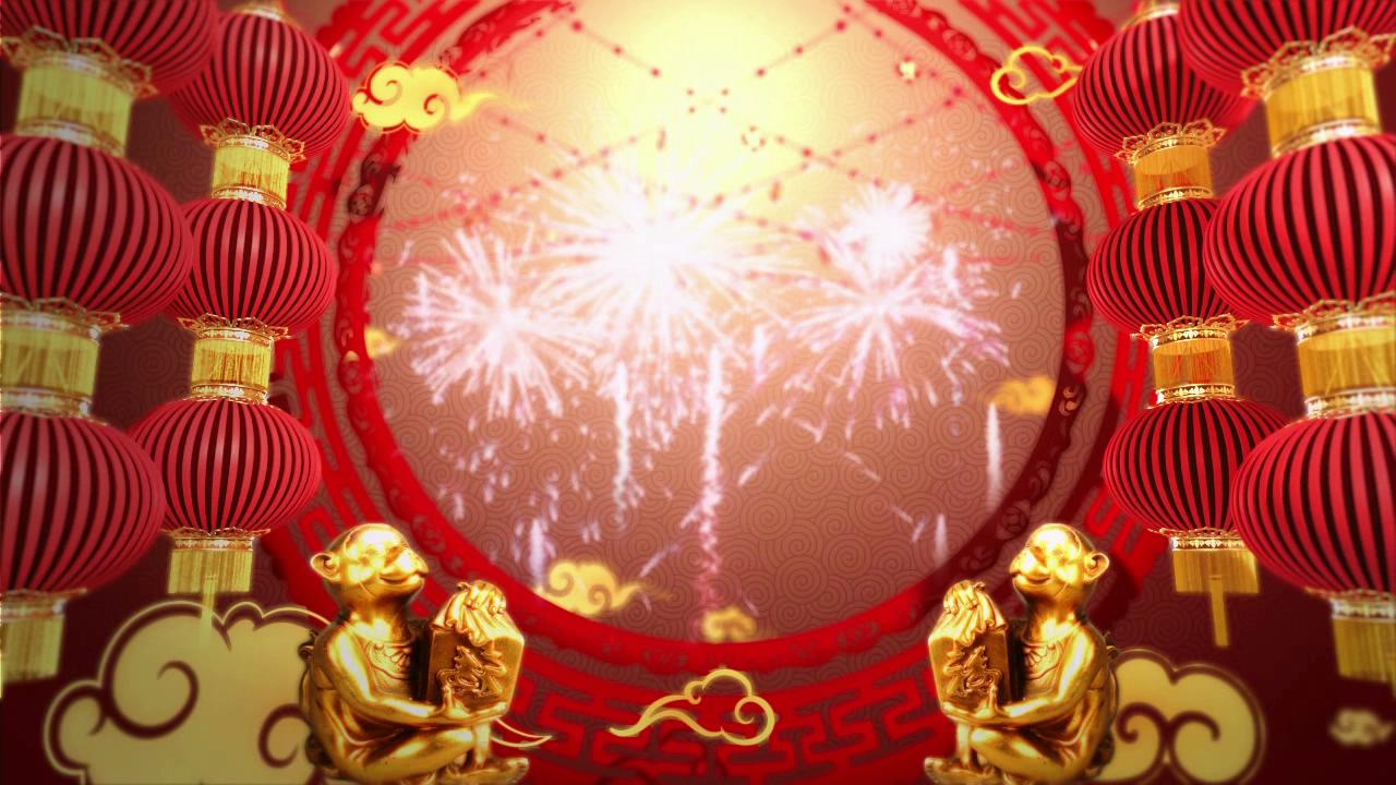 中国春节文字背景