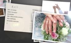 爱的旅程婚礼开场视频婚礼相册模板文件夹