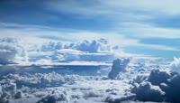 美丽天空风景云流动实拍
