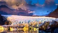 美丽壮观的冬季冰岛风景高清摄影
