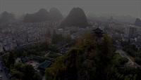 实拍中国桂林山水名胜旅游视频素材