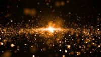 震撼科技金大气粒子运动视频背景素材