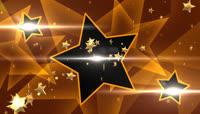 金色星星带透明通道转场 \(1\)
