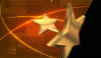 金色星星带透明通道转场 \(4\)