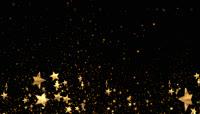 金色星星带透明通道转场 \(7\)