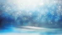 蓝色粒子背景闪烁粒子 粒子光斑