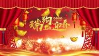 春节拜年视频片头素材