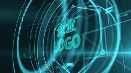 高端大气科技企业宣传片AE模板