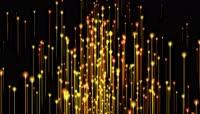 4k超清金色粒子光线颁奖活动舞台背景视频
