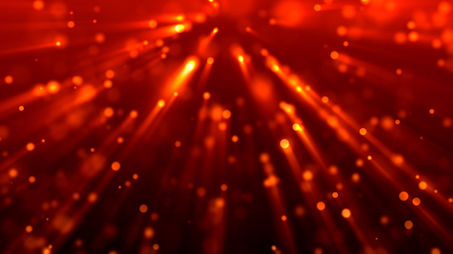 红色粒子背景视频