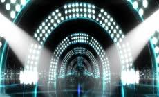 动感光束夜店大气舞台灯光秀LED背景视频