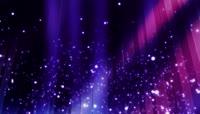 浪漫梦幻般星空光效粒子舞台视频