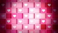 童话视觉 浪漫舞台视频 爱心 心型 婚礼