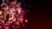 唯美星星动态背景粉色婚礼背景视频素材