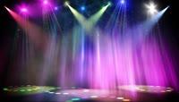 舞台灯光秀光芒聚光灯射灯