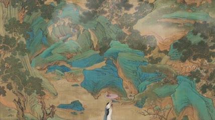 中国古代舞蹈视频背景