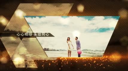 温馨大气奢华婚礼视频AE模板