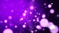 紫色星光粒子背景视频