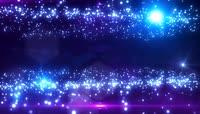 星空粒子星光晚会婚庆素材