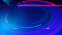 蓝色地球新闻时事动态背景高清视频素材