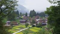 唯美绿色田园乡村风光