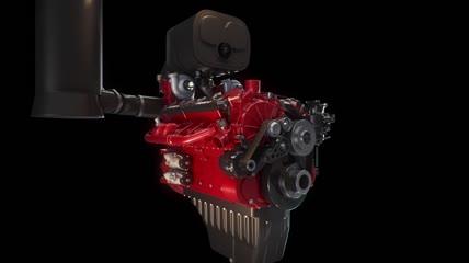 汽车发动机内部运动视频素材