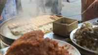 地方美食陕西西安美味小食风味特色美食