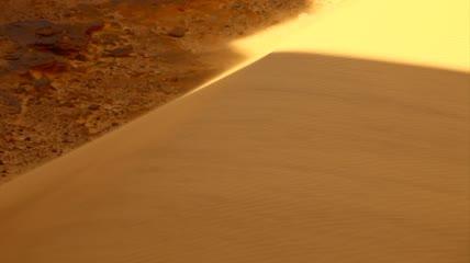 美丽的撒哈拉自然风景