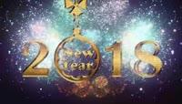 2018元旦新年快乐烟花