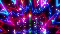 动感节奏光线背景视频