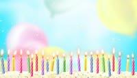 生日宴会背景视频