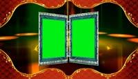 4K婚庆素材婚礼电子相册模版绿屏抠像2