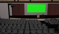 大剧院绿屏抠像