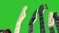 乐器吉他绿屏抠像