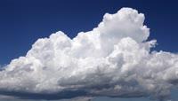 夏季雷暴的时间推移慢速拍摄
