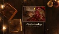 复古圣诞相册展示