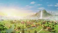 美丽家园自然生态环境三维虚拟仿真动画