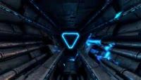 核心震撼科幻电影般的logo揭示开场AE模板