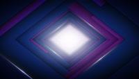 方形穿梭背景循环视频素材