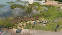 氢气球飞万米高空拍摄模仿Spacex带无人机