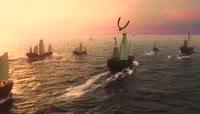 航海帆船视频素材