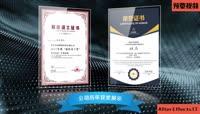 企业年度颁奖证书AE模板