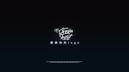 数字化毛刺特效logo展示
