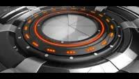 3D科幻标志开场动画AE模板